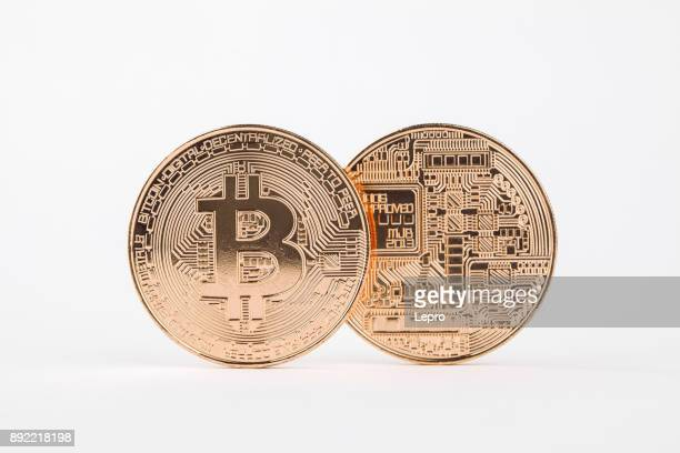 Zagreb, Croatia Dec 12th 2017: Satoshi Nakamoto invented Bitcoin in 2008. an digital form of money, nobody knows who is Satoshi. Bitcoin is a cryptocurrency and worldwide payment system.