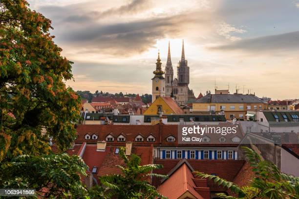 zagreb, croatia - zagreb stock pictures, royalty-free photos & images