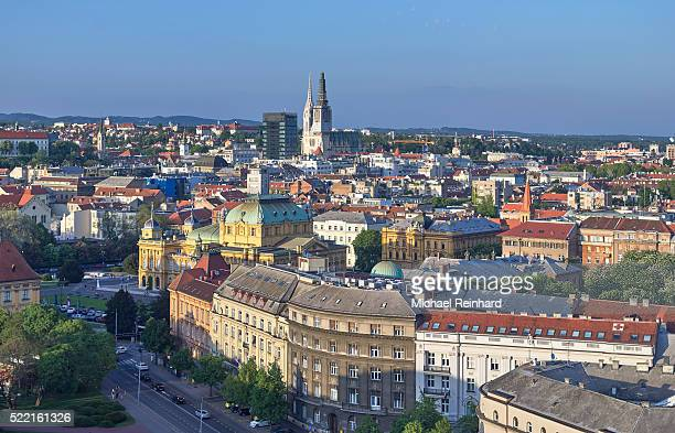 zagreb croatia - zagreb stock pictures, royalty-free photos & images
