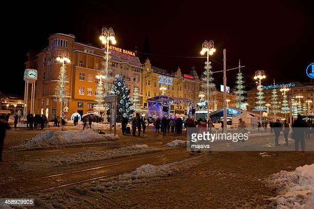Zagreb main square, Croatia