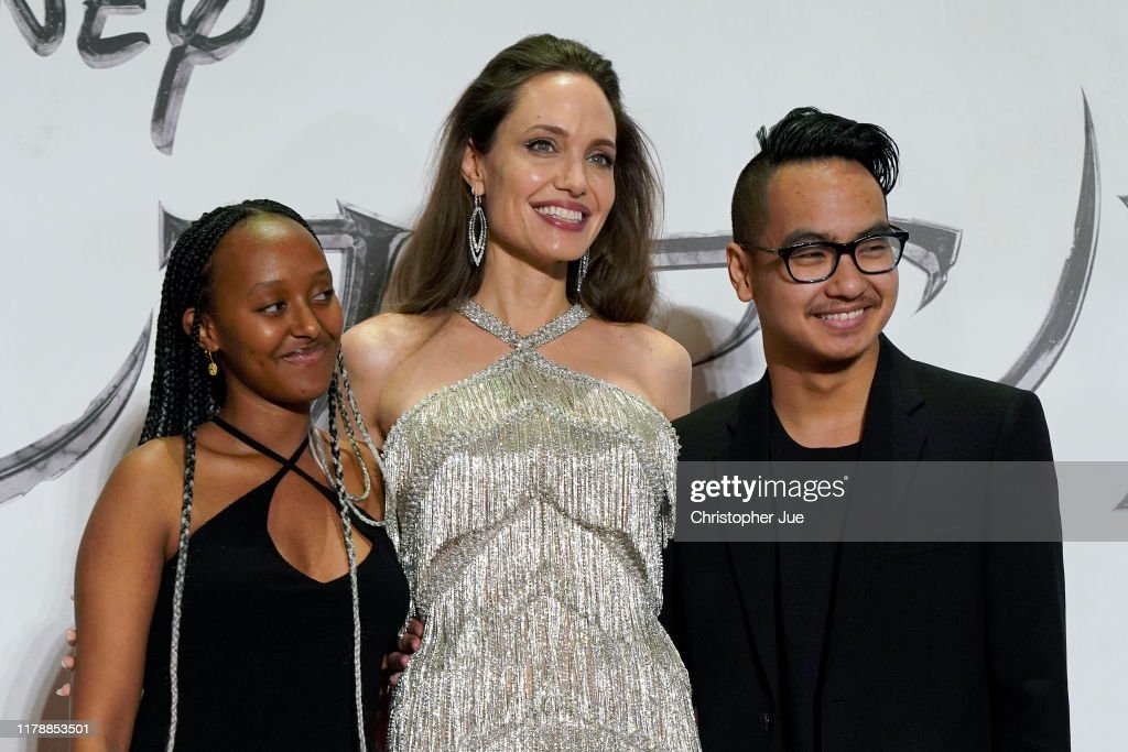 Zahara Jolie Pitt Angelina Jolie And Maddox Jolie Pitt