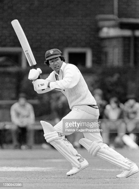 Zaheer Abbas batting for Gloucestershire during his innings of 132 in the Schweppes County Championship match between Hampshire and Gloucestershire...