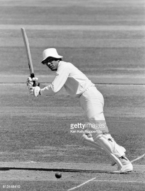Zaheer Abbas batting for Gloucestershire during the County Championship match between Gloucestershire and Hampshire at Bristol 19th July 1976...