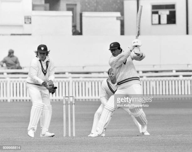 Zaheer Abbas batting for Gloucestershire during the County Championship match between Worcestershire and Gloucestershire at New Road Worcester 1st...