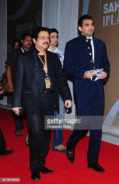 Zaheer Khan at the IPL Award ceremony in Mumbai on Friday