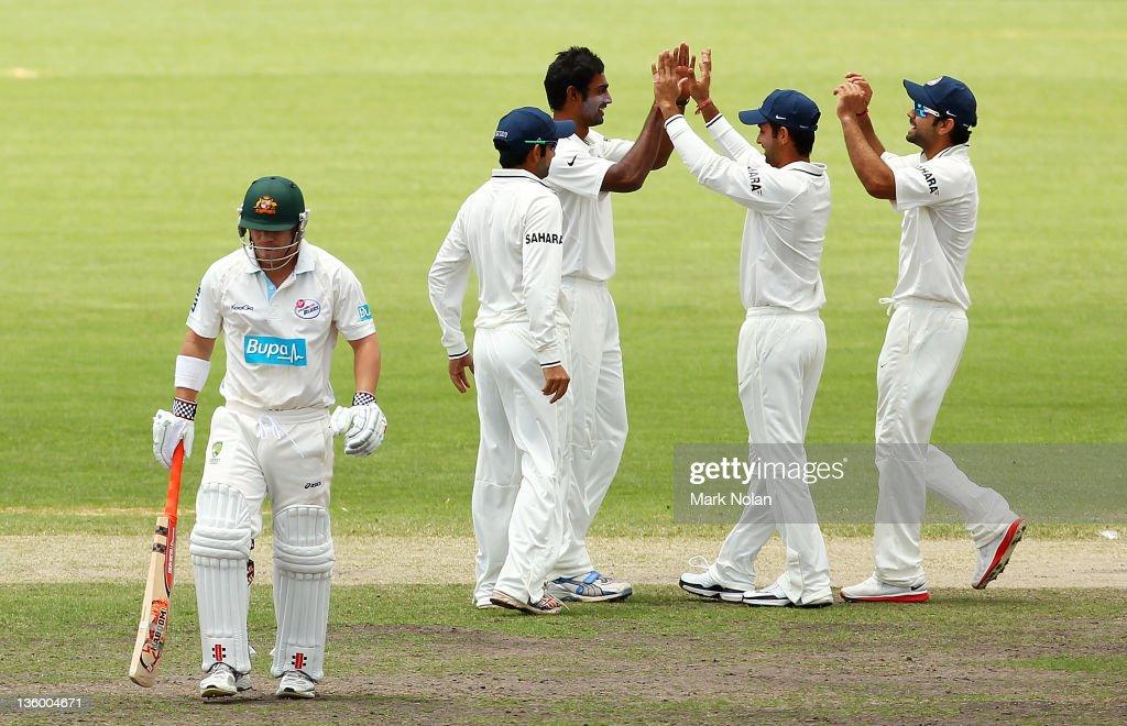 India v CA Chairman's XI - Day 2