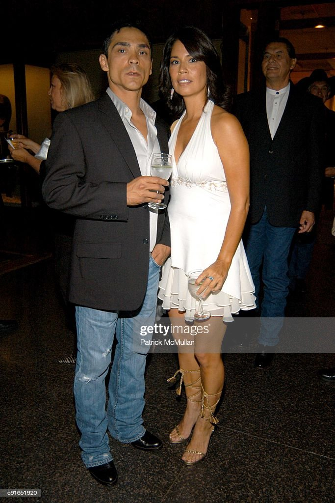 zahn mcclarnon and kateri walker attend into the west premiere at