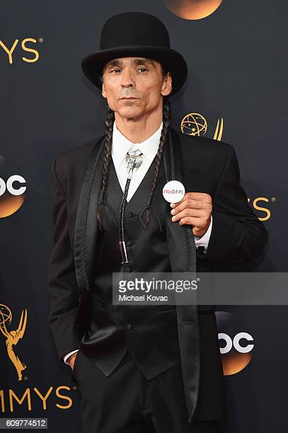 Zahn McClarnon Longmire attends 68th Annual Primetime Emmy Awards at Microsoft Theater on September 18 2016 in Los Angeles California