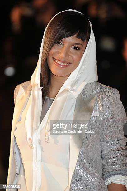 Zaho attends the NRJ Music Awards 2009 in Cannes
