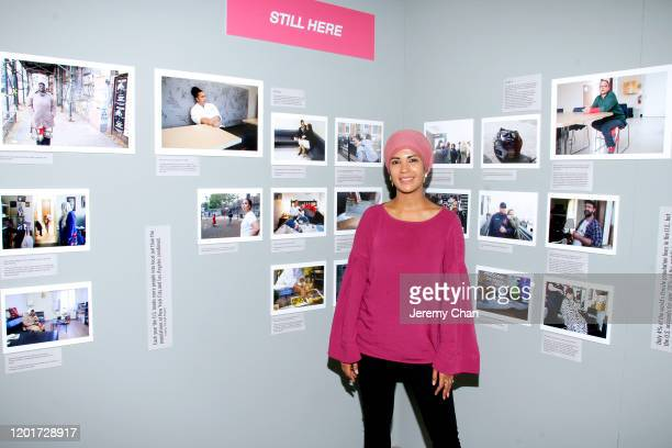 """Zahra Rasool of """"Still Here"""" attends the New Frontier Press Preview during the 2020 Sundance Film Festival at New Frontier Central on January 24,..."""