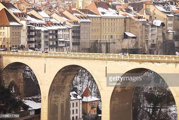 Zahringer Bridge, Fribourg