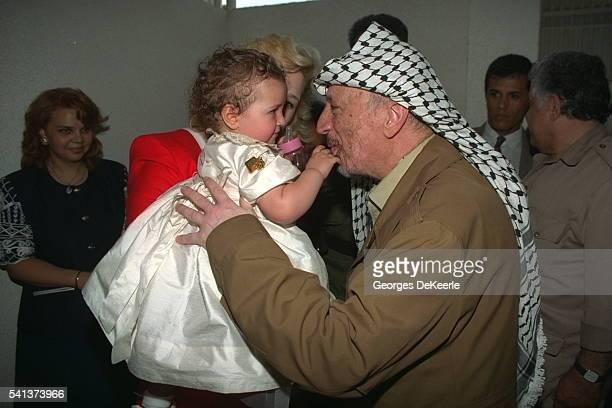 Zahwa Arafat's Daughter's first birthday