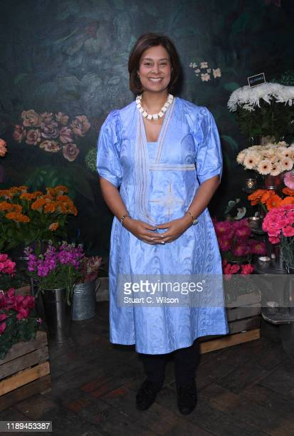 Zain Verjee attends the gala dinner in honour of Edward Enninful winner of the Global VOICES Award 2019 during #BoFVOICES on November 22 2019 in...