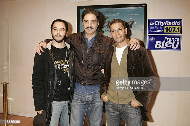 'Zaina' Premiere In Paris On October 23Rd 2005 In Paris France Here Assaad Bouab Simon Abkarian Sami Bouajila