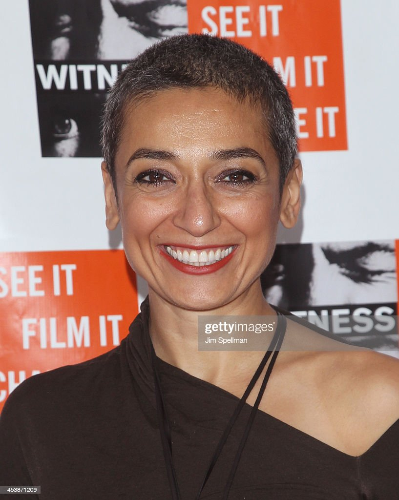 Zainab Salbi attends the 2013 Focus For Change gala benefiting WITNESS at Roseland Ballroom on December 5, 2013 in New York City.