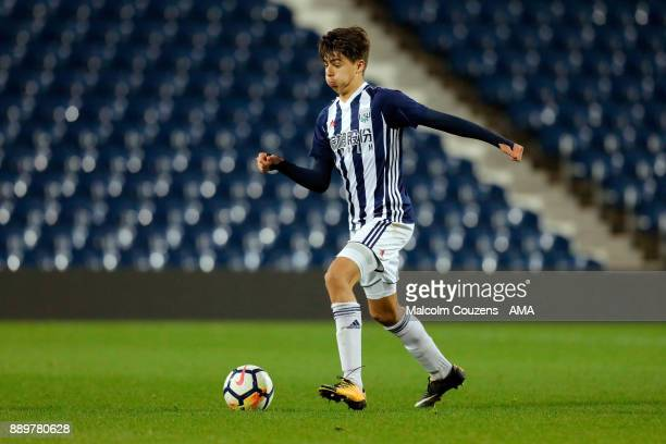 Zak Brown of West Bromwich Albion during the FA Youth Cup game between West Bromwich Albion and Leyton Orient on December 5 2017 in West Bromwich...