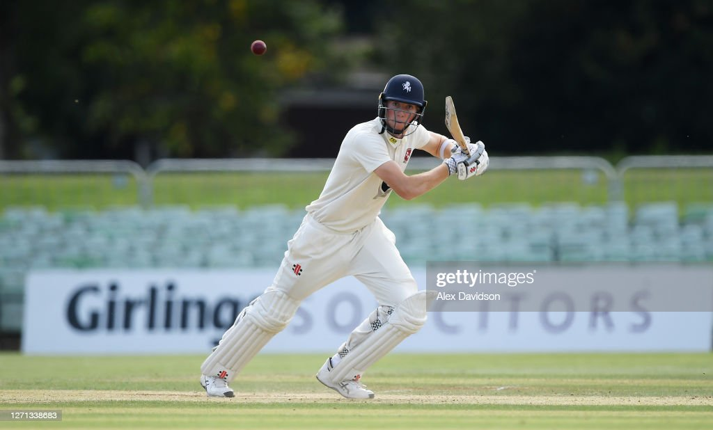 Kent v Hampshire - Bob Willis Trophy: Day 3 : News Photo