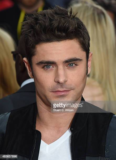 Zak Efron attends the European Premiere of 'We Are Your Friends' at Ritzy Brixton on August 11 2015 in London England