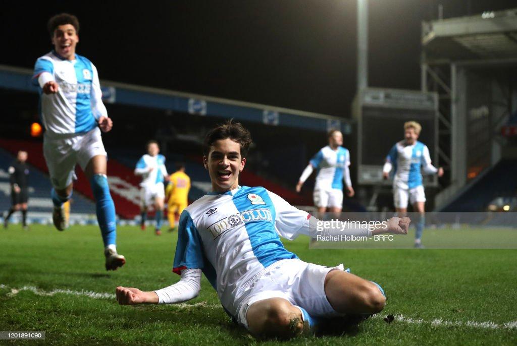 Blackburn Rovers v Preston North End - FA Youth Cup: 5th Round : ニュース写真