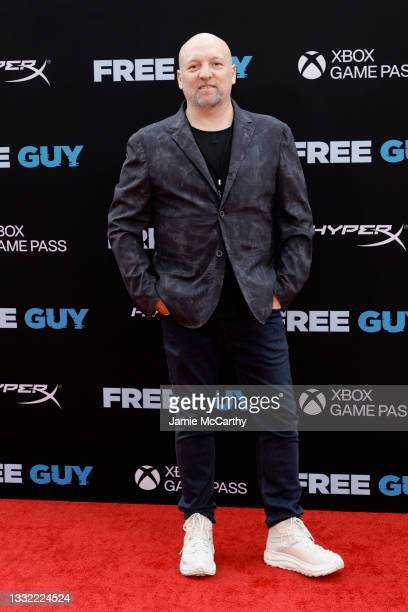 """Zak Penn attends the """"Free Guy"""" New York Premiere at AMC Lincoln Square Theater on August 03, 2021 in New York City."""