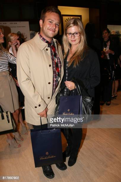 Zak Williams and Alex Williams attend The launch of 'True Prep' at Brooks Brothers on September 14 2010 in New York
