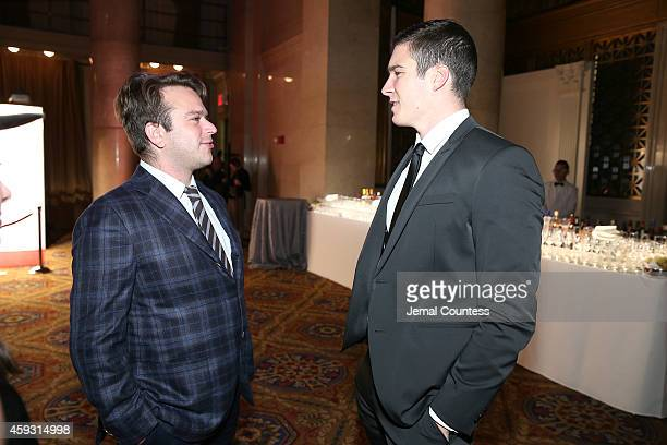 """Zak Williams and William Reeve attend The Christopher & Dana Reeve Foundation Hosts """"A Magical Evening"""" on November 20, 2014 in New York City."""