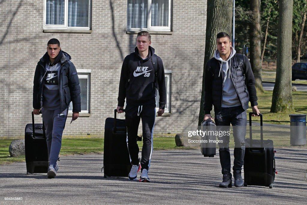 Netherlands U19 Training session