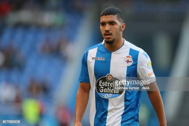 Zakaria Bakkali of Deportivo de La Coruna during the PreSeason Friendly between Deportivo de La Coruna and West Bromwich Albion on August 5 2017 in...