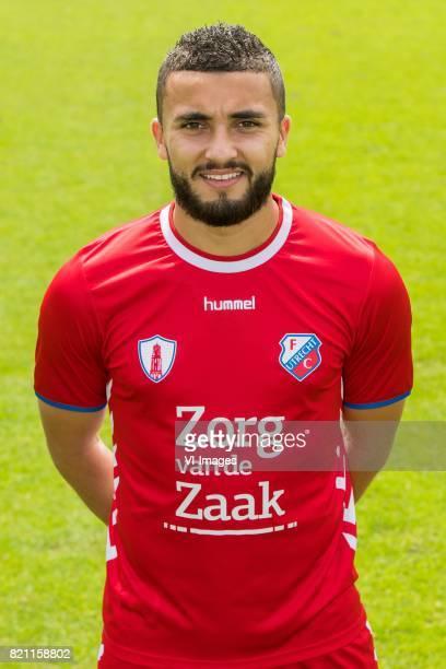 Zakaria Labyad during the team presentation of FC Utrecht on July 22 2017 at Sportcomplex Zoudenbalch in Utrecht The Netherlands