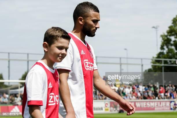 Zakaria Labyad of Ajax during the Club Friendly match between VVSB v Ajax at the Sportpark De Boekhorst on June 23 2018 in Noordwijkerhout Netherlands