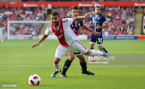 Kaj Sierhuis of Ajax Trialist of Walsall during the Club Friendly match between Walsall FC v Ajax at the Bescot Stadium on July 19 2018 in Walsall...