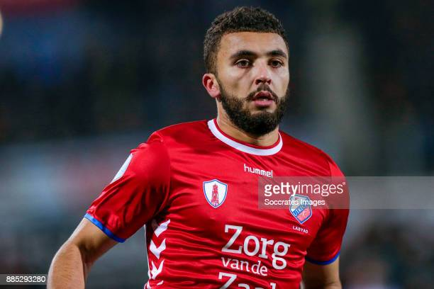 Zakaria Labyad of FC Utrecht during the Dutch Eredivisie match between PEC Zwolle v FC Utrecht at the MAC3PARK Stadium on December 1 2017 in Zwolle...