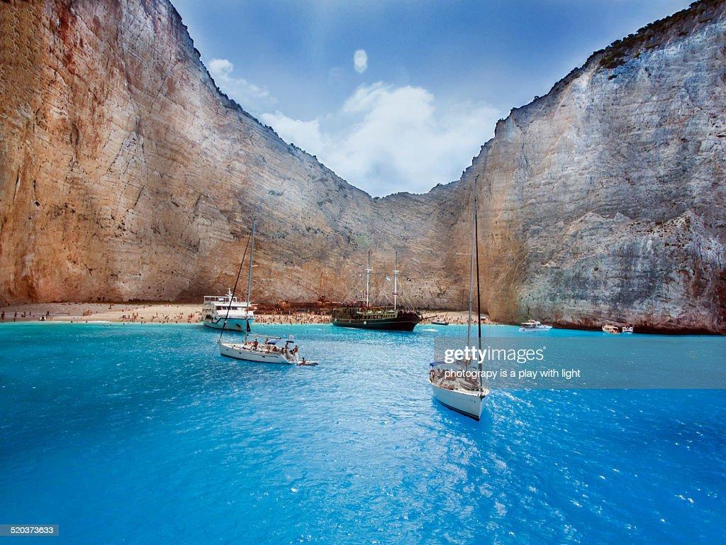 Zakinthos island : Foto de stock