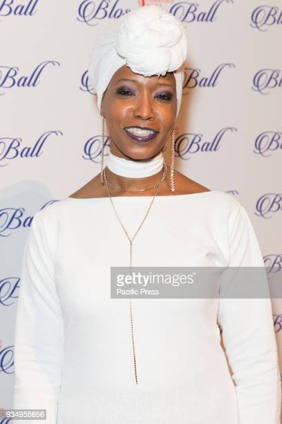 Zakiyah Ansari attends Endometriosis Foundation of America 9th Annual Blossom Ball at Cipriani 42nd street