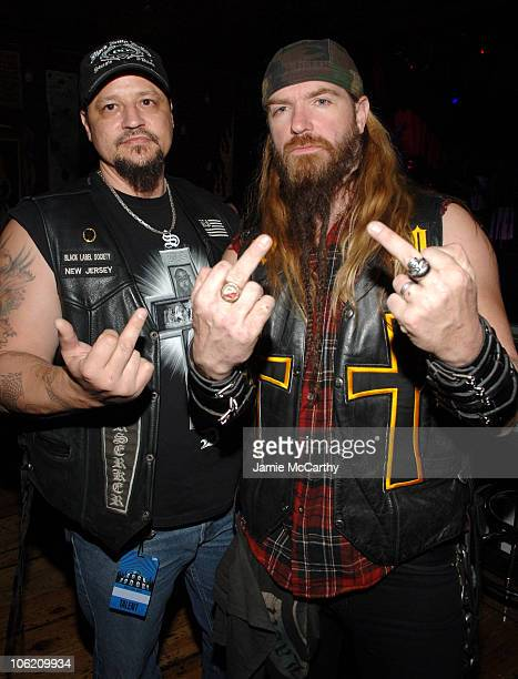 Zakk Wylde and guest during 2007 VH1 Rock Honors After Party Benefiting VH1 Save The Music Foundation at Mandalay Bay in Las Vegas Nevada United...