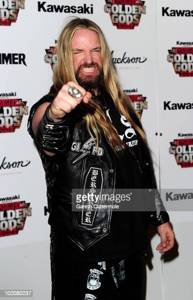 Zakk Wylde arrives at The Metal Hammer Golden Gods Awards at indigo O2 on June 14, 2010 in London, England.