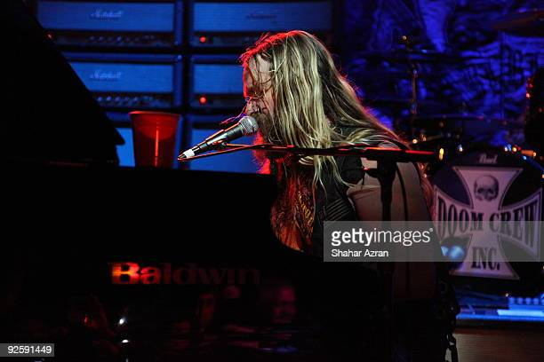 Zakk Wylde attends the Hellfire Halloween Bash at the Hard Rock Cafe, Times Square on October 31, 2009 in New York City.