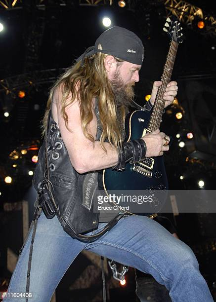 Zakk Wylde during 2007 VH1 Rock Honors Rehearsals Day 1 at MGM Grand in Las Vegas Nevada United States