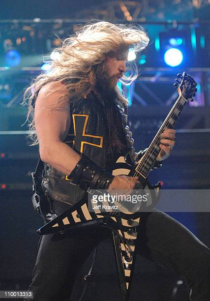 Zakk Wylde during 2007 VH1 Rock Honors Show at Mandalay Bay in Las Vegas Nevada United States