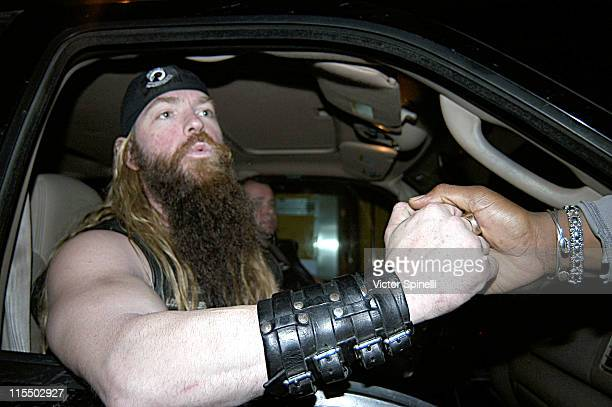 Zakk Wylde during A Galaxy of Rock Stars Concert January 22 2005 at Galaxy Theatre in Santa Ana California United States