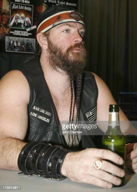 Zakk Wylde during Zakk Wylde and Black Label Society Sign Their New Album at Utopia Records September 26 2006 at Utopia Store in Sydney NSW Australia