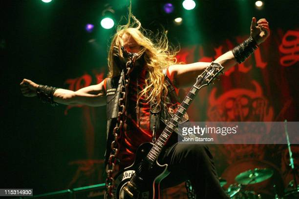 Zakk Wylde during Zakk Wylde in Concert at the Enmore Theatre in Sydney September 26 2006 at The Enmore Theatre in Sydney NSW Australia