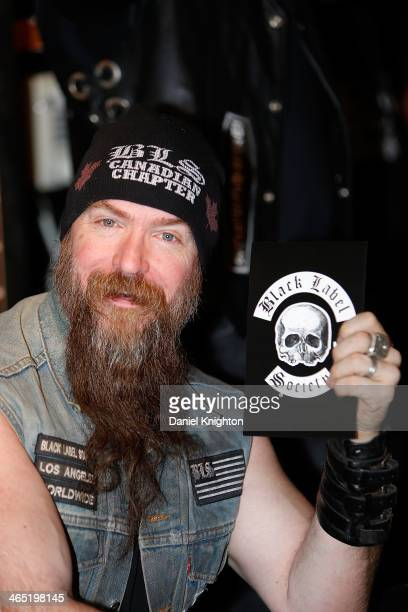 Zakk Wylde of Black Label Society appears at the 2014 NAMM Show at Anaheim Convention Center on January 25 2014 in Anaheim California