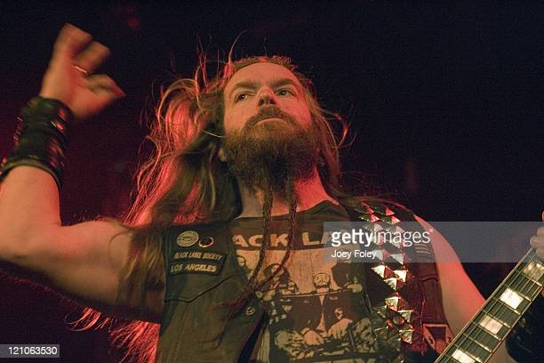 Zakk Wylde of Black Label Society during Black Label Society Performs in Concert at The Vogue Theater – April 05, 2006 at The Vogue Theater in...
