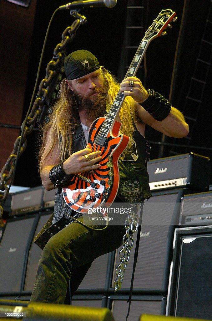Zakk Wylde of Black Label Society during OzzFest 2004 Tour Opener at CTNow Meadows in Hartford, Conneticut, United States.