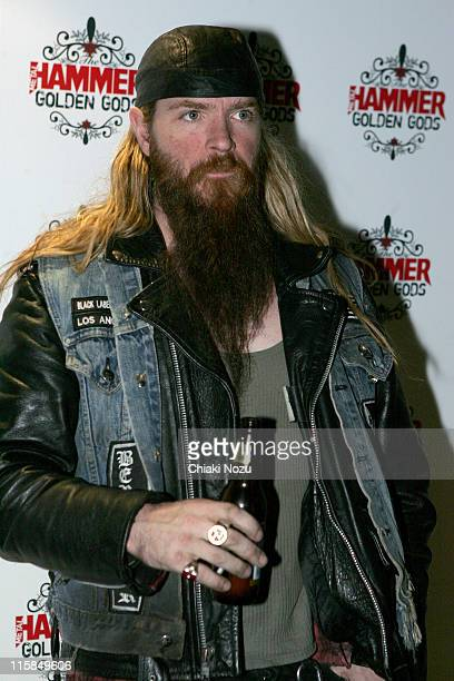 Zakk Wylde of Black Label Society during The Metal Hammer Golden Gods Awards 2005 - Arrivals & Press Room at The Astoria in London, Great Britain.