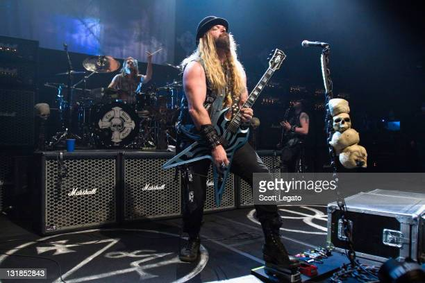 Zakk Wylde of Black Label Society performs at the The Filmore on November 7 2010 in Detroit Michigan