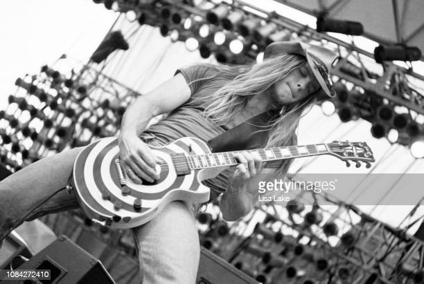 Zakk Wylde of Pride and Glory performs at Montage Mountain on August 14 1994 in Allentown Pennsylvania