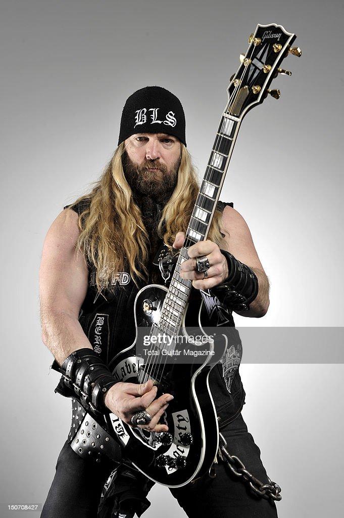 Zakk Wylde With A Gibson Black Label Society Les Paul