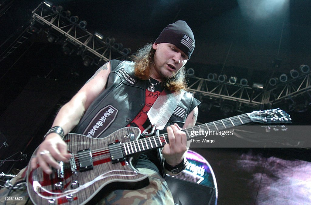 Zakk Wylde's Black Label Society during OzzFest 2004 Tour Opener at CTNow Meadows in Hartford, Conneticut, United States.